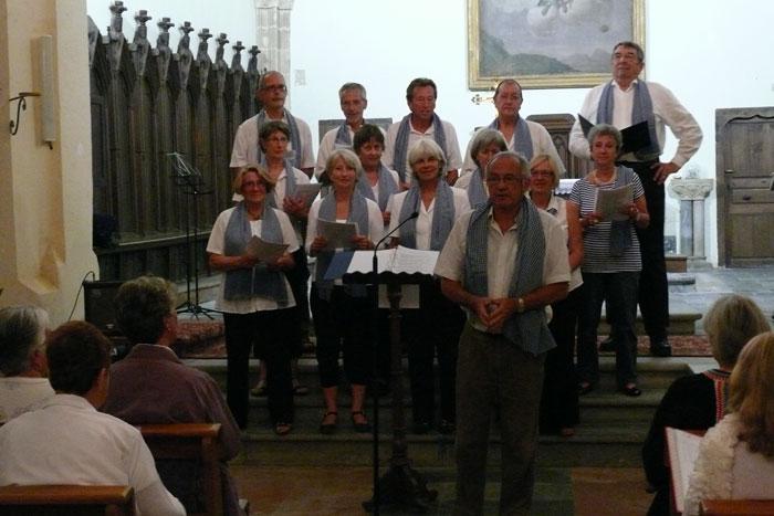 Vous regardez une image de l'article: Rassemblement de chorales à Labatut-Rivière