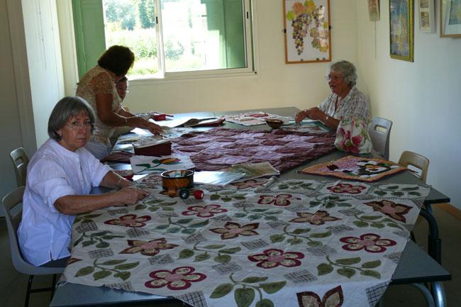 Vous regardez une image de l'article: Patchwork à Labatut-Rivière