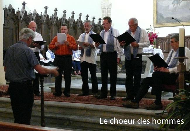 Vous regardez une image de l'article: ' Les Choralies de Labatut-Rivière ', ce 5 juillet 2013