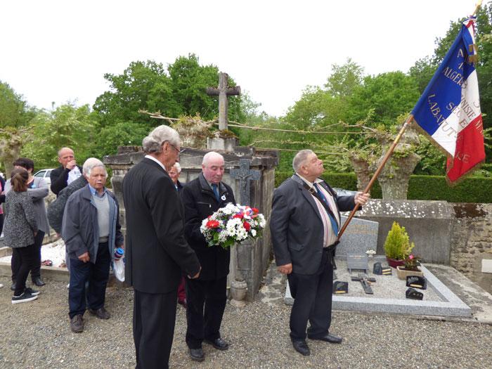 Vous regardez une image de l'article: Commémoration, ce 8 mai 2016 à Labatut-Rivière
