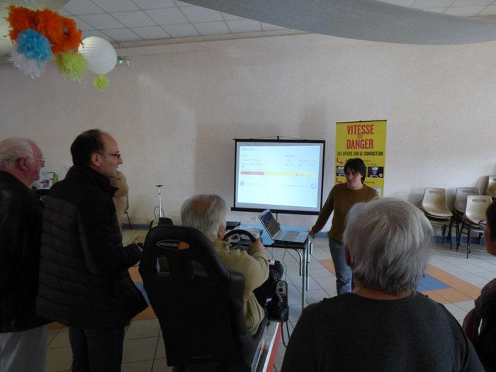 Vous regardez une image de l'article: Sensibilisation des seniors à la sécurité routière, à Labatut-Rivière