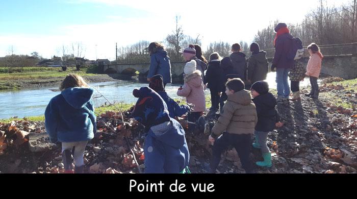 Vous regardez une image de l'article: 'A l'école de la nature', une belle et pédagogique initiative