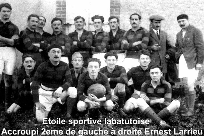 Vous regardez une image de l'article: L'école du village désormais baptisée 'Ernest Larrieu'