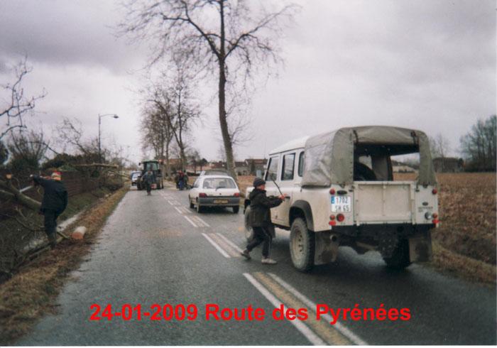 Vous regardez une image de l'article: Regard dans le rétro : la tempête Klaus de 2009
