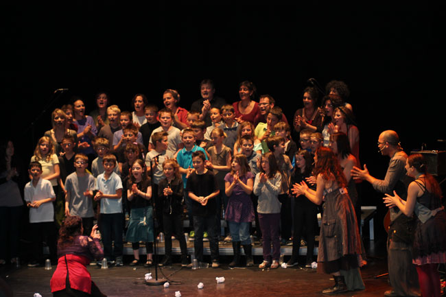 Vous regardez une image de l'article: Nos petits choristes en vedette à Marciac !