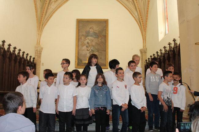 Vous regardez une image de l'article: Nos chorales, en l'église de Labatut-Rivière ce 24 avril 2014