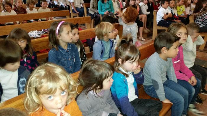 Vous regardez une image de l'article: Ce 30 avril 2015, l'église de Labatut accueillait les chorales des écoles…