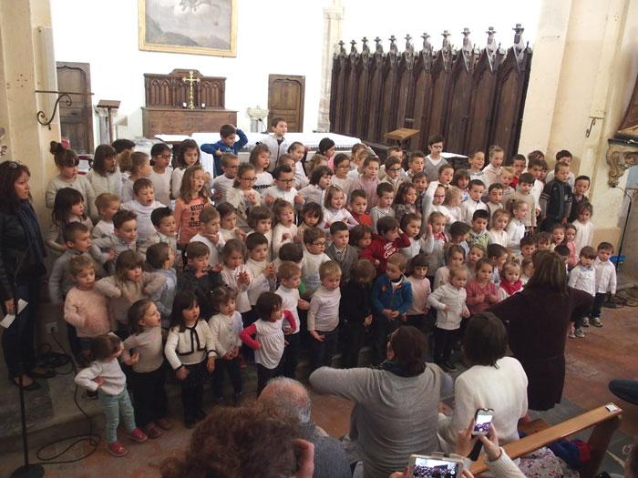 Vous regardez une image de l'article: Chorales des écoles 2017